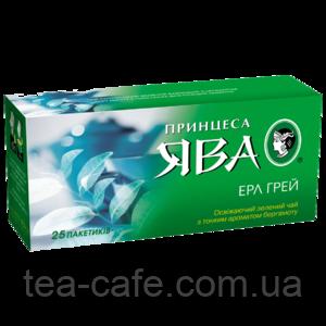 "Чай зелений Принцеса Ява ""Эрл Грей"" 25 пак."