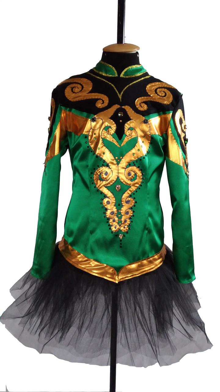Ирландский стилизованный костюм
