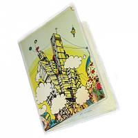 "Обложка на паспорт ""Иллюстрация Matei Apostolescu"""