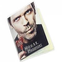 """Обложка на паспорт """"Доктор Хаус"""""""