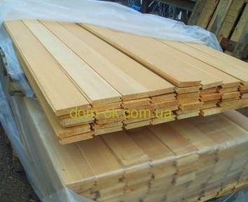 Доска пола из сибирской лиственницы* 142х27 мм, длина 3 м,, 4 м сорт ЭК