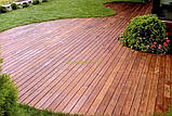 Террасная палубная доска из сибирской лиственницы размер Ширина 90мм, Толщина 22мм, Сорт ВС, фото 3