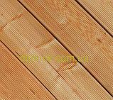 Террасная палубная доска из сибирской лиственницы размер Ширина 90мм, Толщина 22мм, Сорт ВС, фото 5