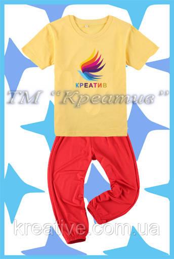 Детские футболки штаны оптом (под заказ от 50 шт) с НДС
