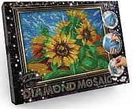 Алмазная живопись (мозаика) Подсолнухи Данко Тойс DM-02-02