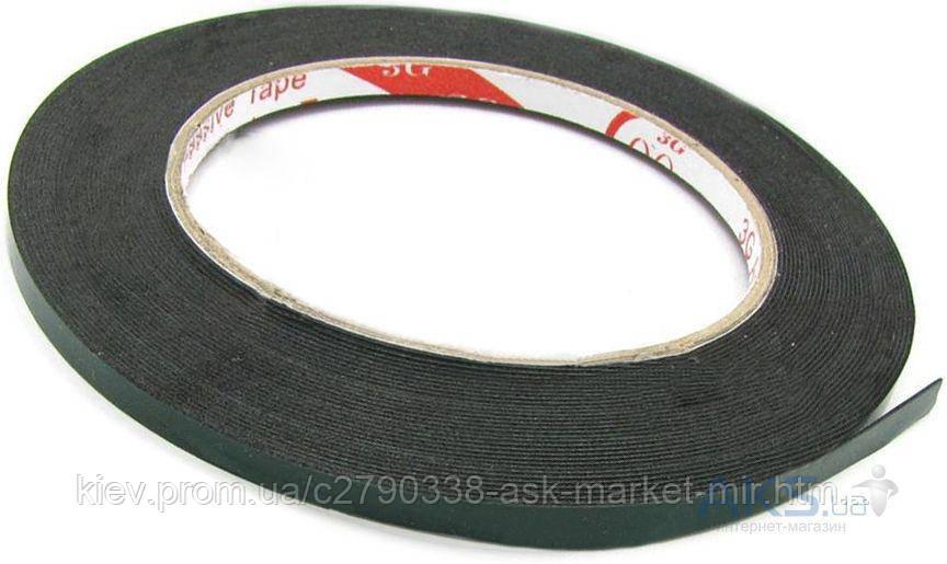 Двухсторонний скотч полиуритановый (5 мм, 25 м, 1 мм) для ремонта дисплеев и тачскринов