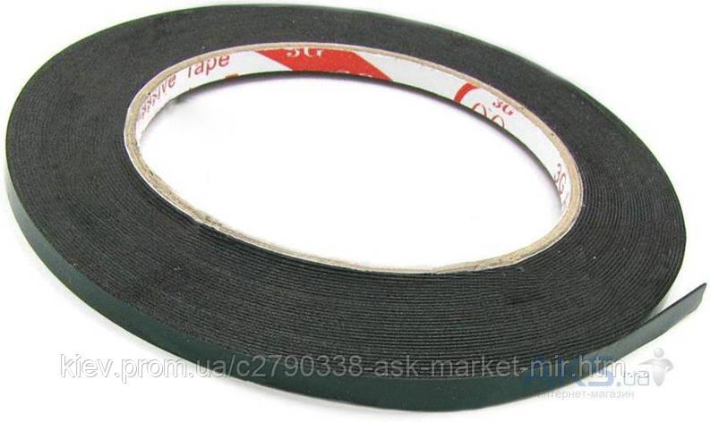 Двухсторонний скотч полиуритановый (5 мм, 25 м, 1 мм) для ремонта дисплеев и тачскринов, фото 2