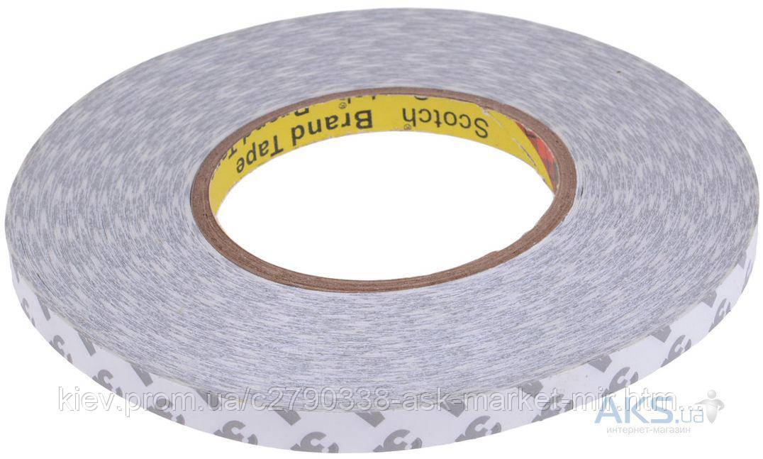Двухсторонний скотч полиуритановый (7 мм, 50 м, 0,2 мм) для ремонта дисплеев и тачскринов