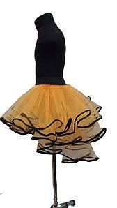 Детская юбка для танцев из фатина