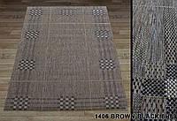 Ковер LODGE 1406 brown-black