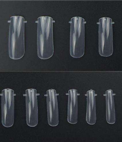 Верхние силиконовые формы для наращивания ногтей, 10 шт