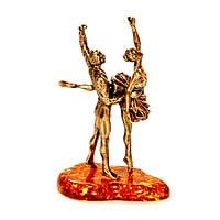Статуэтка из бронзы и янтаря Балет