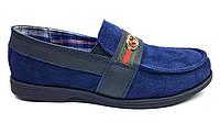 Детские подростковые туфли мокасины Gucci