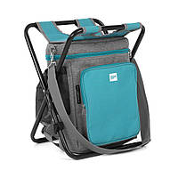 Термосумка, походный рюкзак, складной стул Spokey Mate 921904 (original) набор для пикника