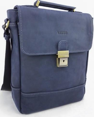 301a1a55e7f9 Мужская сумка-портфель VATTO Mk28.2 Kr600, из натуральной кожи, синий -