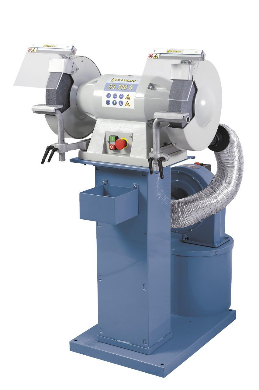 DS 300S заточной станок промышленный| точильно шлифовальный станок с пылесосом Bernardo Австрия
