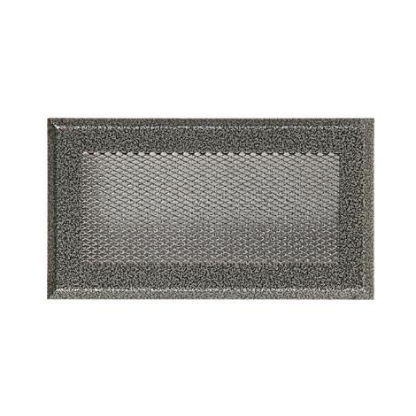 Каминная вентиляционная решетка Standart старое серебро