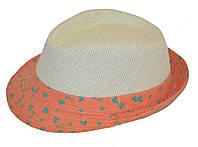 Шляпка детская летняя