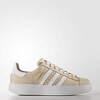 Женские кроссовки Adidas Superstar Bold linen (Артикул:CG2886), фото 1