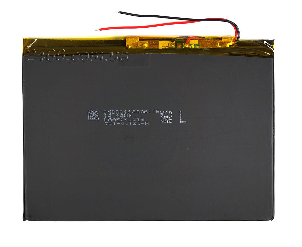 Аккумулятор для планшета (4600 мАч) тонкий, плоский 3,7 в - размер 2,9*94*130 мм (4600mAh) 3.7v 2994130