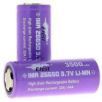 Аккумулятор Battery 18650 Pointed Efest *АКЦИЯ!!!*