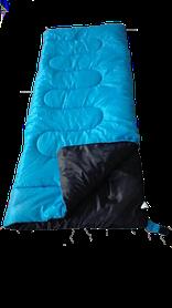 Спальный мешок CAMPING 190 Голубой (Time Eco TM)