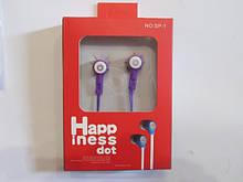 Навушники SP 6 Happ інесс dot