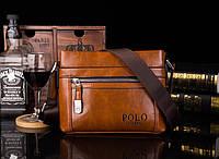 Мужская сумка через плечо Polo HR (Реплика)
