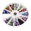 Стразы для дизайна ногтей в карусели, сердечки, фото 5