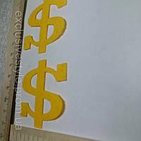 Термонаклейка Gold Dollar