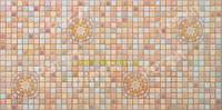 ПВХ панель стеновая Регул Медальон коричневый - 33 К, фото 1