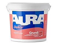 Грунт с кварцевым песком AURA DEKOR GRUND адгезионный 10л