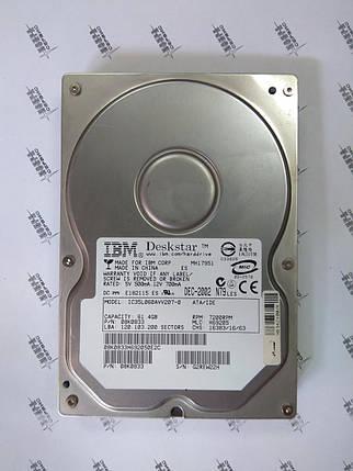 Жесткий диск HDD 60Gb IDE IBM Б/У S.M.A.R.T - GOOD, фото 2