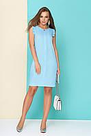 "Женское класическое платье ""Барби"" 44, Голубой"