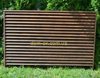 Металлический забор Жалюзи ламель Твинго/ Twingo printech2-х стор 35 мк, фото 1