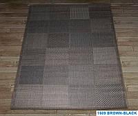 Ковер LODGE 1609 brown-blakc
