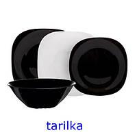 Сервиз столовый LUMINARC CARINE WHITE&BLACK / 19 пр. (N1491)