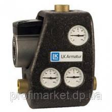 """Змішувальний вузол LK ARMATUR 810 G ThermoMat хв 60°C 1 1/4"""" з зворотним клапаном"""
