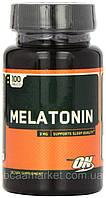 Мелатонін Optimum Nutrition Melatonin, 100 tabs