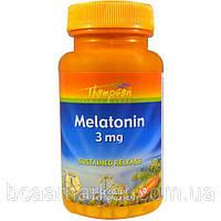 Мелатонин Thompson Melatonin 3 mg, 30 tab, фото 1