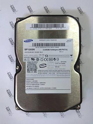 Жесткий диск HDD 120Gb IDE Samsung Б/У S.M.A.R.T - GOOD, фото 2