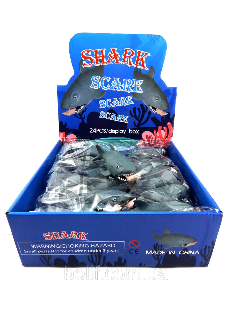 """Приколы-шалости М02606 """"Хищная акула"""""""