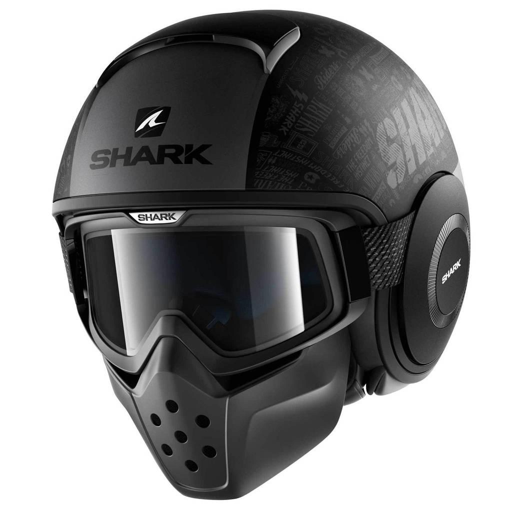 Шлем Shark Drak Tribute Rm р.L, черный мат