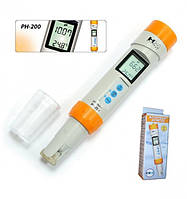 Профессиональный влагозащищённный рН-метр PH-200 HM Digital, Inc U.S.A., фото 1