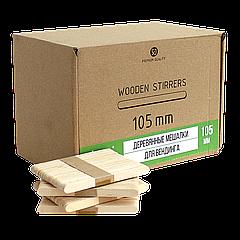 Мешалка деревянная  105мм (2500) Vending