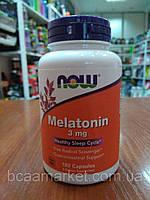 Мелатонин Now Foods Melatonin 3 mg, 180 caps