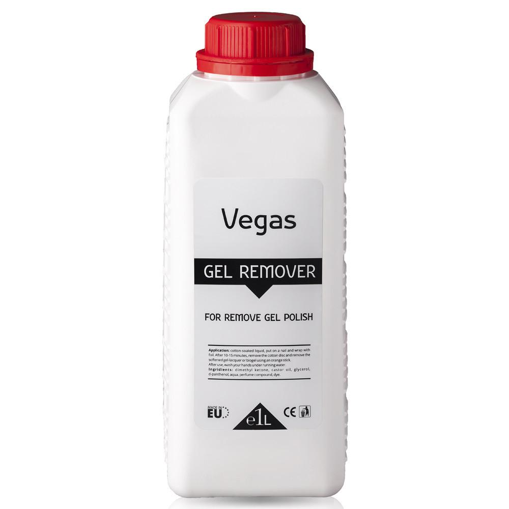 Жидкость  для снятия гель-лака, Vegas, 1000 мл, GGA