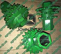Звёздочка AH133152 Chain Sprocket запчастини John Deere Z = 15, 17, 19 звездочки АН133152, фото 1