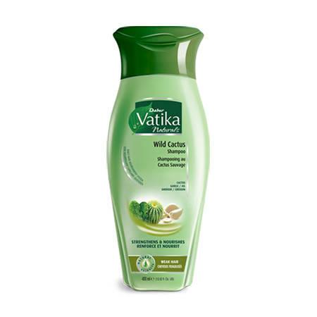 """Шампунь для волосся Dabur Vatika Wild Cactus """"Зміцнення і живлення"""", 200мл, фото 2"""