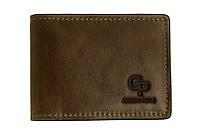 Зажим-портмоне Grande Pelle, шоколад, кожа (107620), фото 1